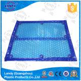 Occhiello solare dei coperchi della piscina - fabbrica di Landy