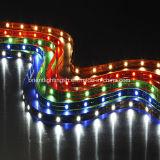 SMD5050 tira flexível do diodo emissor de luz do poder superior 30 LEDs/M