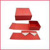 Transporte plana logotipo personalizado impresso na caixa de Papel dobrável com fecho magnético Folding Box caixa dobrável Caixa Dobrado Caixa Dobra Caixa de Embalagem Caixa de oferta de dobragem
