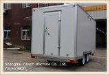 YS-Fv390d venta caliente cerrado Catering Trailer Van