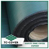 La couleur verte PP Couvercle de sécurité du matériel de rouleau