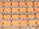 ステンレス鋼のひだを付けられた金網
