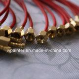 tubo de alta presión de /Pipe/ del manguito del manguito de la prueba de presión de la fibra de 630bar Aramid