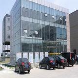 다중 이야기 전 설계된 구조를 가진 강철 사무실 건물