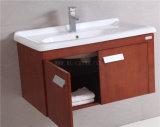 N&Lの米国式の固体カシ木浴室用キャビネット