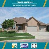 Bajo costo de Prefab Villa con el panel y el marco de acero Alc
