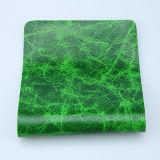 Couro artificial personalizado do plutônio da cor para o Upholstery do sofá (F8002)