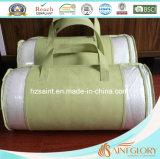 Almofada de bambu removível com almofada de espuma de memória triturada
