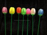 indicatore luminoso di natale chiaro decorativo del tulipano di 75cm LED