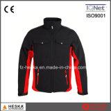 도매 100%년 폴리에스테 능직물 재킷 Mens 열전달 Softshell 재킷