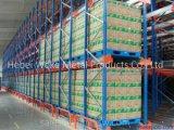 Sistema automatizado de armazenamento de transporte de paletes