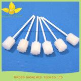 Bastone di plastica del tampone della spugna della maniglia della strumentazione dentale