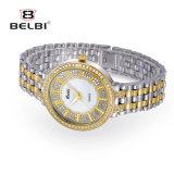Belbi Form-Luxuxdiamant-beiläufige Uhr-wasserdichte Legierungs-Quarz-Uhr