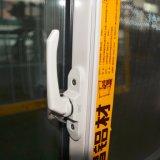 Puder-überzogenes schiebendes Aluminiumfenster mit Rasterfeld-schiebendem Fenster, Aluminiumfenster K01087