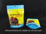 De Tribune van de Ritssluiting van de Aluminiumfolie van de douane op de Zak van de Verpakking van de Snack van het Voedsel