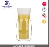 300ml-400ml tazza doppia di vetro, 3000PCS disponibile (GB500460400), doppia tazza