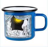 Personalizado fazendo a caneca de café do esmalte de 8/9/10/11/12cm