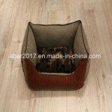 Luxuxform gestricktes Gewebe-Haustiermöbel Produkt-Hundebett-Sofa