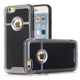 Caixa dura Shockproof do telefone de pilha do iPhone 7 finamente com vidro Tempered