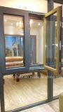Hout van de Verkoper van Woodwin het Hete en het Samengestelde Venster van het Aluminium met Dubbel Glas