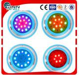 Luz subaquática da piscina do diodo emissor de luz de Chaning da cor de Fenlin RGB