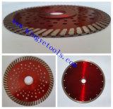 4 pulgada de espesor del revestimiento de porcelana Turbo diamante Hoja de sierra