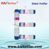 水軟化剤のろ過材が付いているUdf水清浄器のカートリッジ