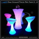 Barre d'ensembles de meubles à LED avec PE matériau plastique