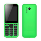 Spreadtrum 6531d Chip, 2.4 pouces Qvga Screen Cell Phone, avec 0.3MP Camera Bar Phone