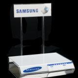 Étalage acrylique fait sur commande de stand d'ordinateur portatif de moniteur d'ordinateur d'usine