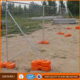 Posição livre painel provisório galvanizado da cerca do engranzamento da barricada