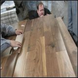 En Noyer Américain Anti-Scratch Engineered Wood Flooring/Hardwood Flooring