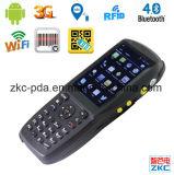 Explorador Handheld androide PDA del código de barras de Zkc PDA3501