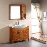 De ceramische Countertop Stevige Houten Ijdelheid Van uitstekende kwaliteit van de Badkamers