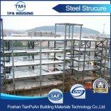 Estructura de acero prefabricada de la construcción de almacén Wokshop