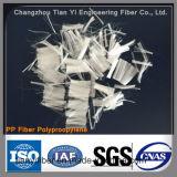 Engenharia Hidrogênio em betão Grau Monofilamento Fibra de polipropileno (fibra de PP)