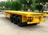 base de los 20FT/de Lowboy acoplado inferiores del carro semi