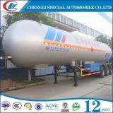 Rimorchio del contenitore a pressione del fornitore GPL 56cbm 26tons GPL semi