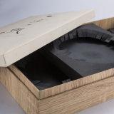 OEM Houten Luxe & het Vakje van de Verpakking van het Vakje van de Gift van het Document voor Gift