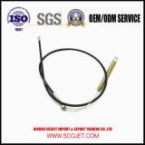 Le câble de commande avec le ressort et l'extrémité de moulage mécanique sous pression
