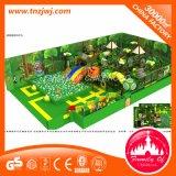 Castello impertinente della strumentazione dell'interno del campo da giuoco di tema della giungla per il bambino