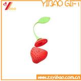 Bustina di tè multicolore su ordinazione del silicone di vendita superiore