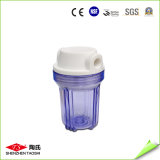 Высокие прочные ясные пластичные сертификаты корпуса фильтра воды