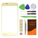 OEM ODM доступно сотовый телефон объектив стекло для мобильного телефона Samsung S6 Gold покрытие стекла объектива