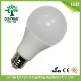 Bulbos ligeros del LED A60 12W E27 Alum+PBT