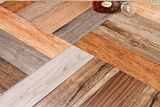 Interieur Tile Carpet Wood Look Factory (AJ604)
