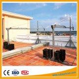 Plataforma de trabajo Plataforma colgado, Cuerda de alambre suspendida Plataforma, Telecabina