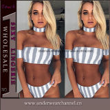 Form Großhandels-Soem-auf lagerfrauen-reizvoller Badeanzug-Strand-Bikini (TONY0335)