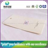 Etiqueta de papel de la caída de la impresión de la manera que graba hermosa (para la ropa)