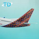1: Escala de 100 modelos de aviones B737-900 de juguete de resina
